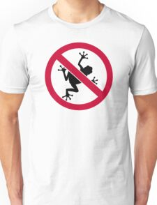 No frogs Unisex T-Shirt