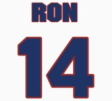 National baseball player Ron Northey jersey 14 by imsport