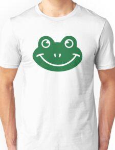 Frog smiley Unisex T-Shirt