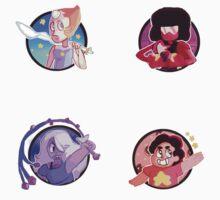 Steven Universe stickers  by Feefles