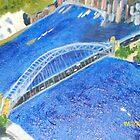 Sydney Harbour Bridge - painting by tigerboy9