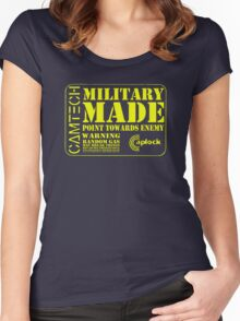 Military Made Women's Fitted Scoop T-Shirt