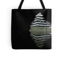 Matsumoto castle by night Tote Bag
