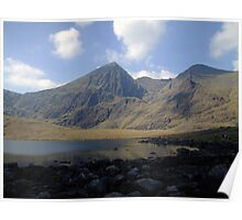 Carrauntoohil summer view Poster
