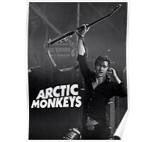 alex turner with guitar Poster