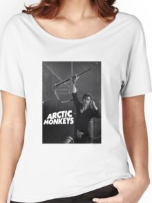 alex turner with guitar Women's Relaxed Fit T-Shirt