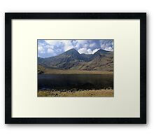 Carrauntoohil in summer Framed Print
