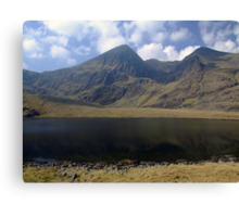 Carrauntoohil in summer Canvas Print