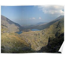 Macgillycuddy Reeks summer view Poster