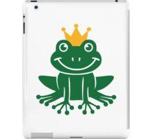 Frog crown iPad Case/Skin