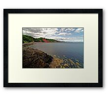 Babbacombe Bay Near Torquay, Devon Framed Print