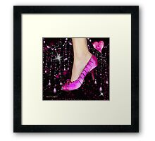 I Love My Pink Shoes!! (Views: 10601 :o) Framed Print