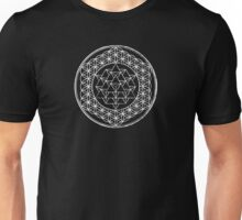 Flower of Life 2D&3D Unisex T-Shirt