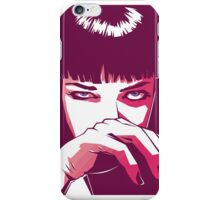 Mia Wallace iPhone Case/Skin