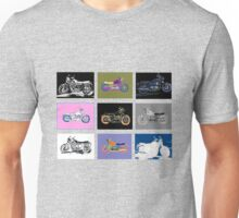 9 Bikes Unisex T-Shirt