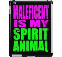 Maleficent is my Spirit Animal iPad Case/Skin