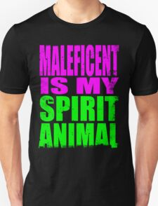 Maleficent is my Spirit Animal T-Shirt