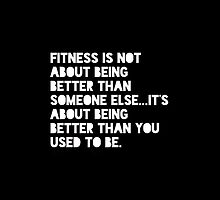 fitness quote by Tyrahhills