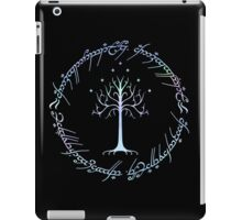 Tree of Gondor and One Ring Inscription, LOTR, Tolkien iPad Case/Skin