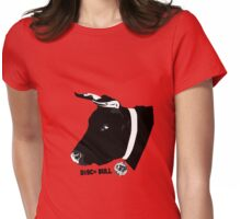 Disco Bull Womens Fitted T-Shirt