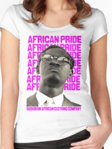 African Pride Women's Fitted Scoop T-Shirt