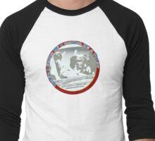 Grow Up A Pilot Men's Baseball ¾ T-Shirt