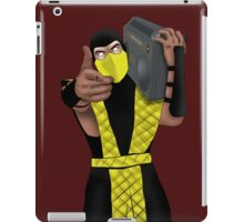 GET OVER HERE AND LISTEN TO THESE DOPE BEATS iPad Case/Skin