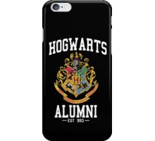 Hogwarts Alumni, Harry Potter, Hogwarts Crest iPhone Case/Skin