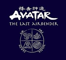 Avatar, the Last Airbender, Four Nations, Ang by NerdGirlTees