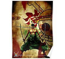 kanji + zoro Poster