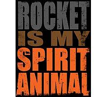 Rocket is my Spirit Animal Photographic Print