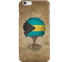 Tree of Life with Bahamas Flag iPhone Case/Skin