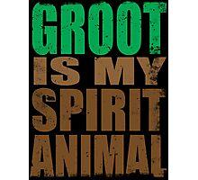 Groot is my Spirit Animal Photographic Print