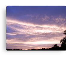 Evening Clouds #1 Canvas Print