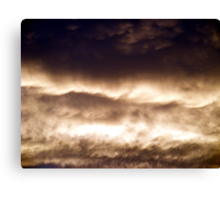 Evening Clouds #2 Canvas Print