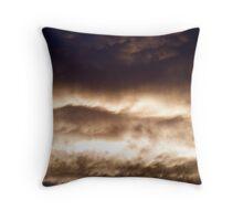 Evening Clouds #2 Throw Pillow