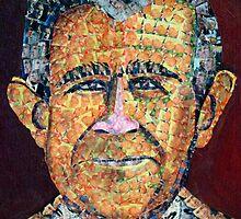 George Bush by Reba Hierholzer