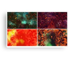 """ Earth Textures "" Vector Artwork Canvas Print"