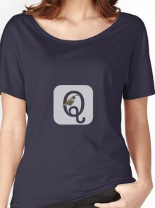 Q is for Quail Women's Relaxed Fit T-Shirt