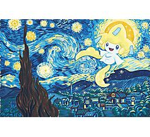 Starry Jirachi Photographic Print