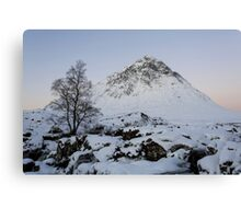 The Buachaille Etive Mor Mountain Canvas Print