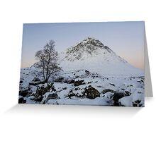 The Buachaille Etive Mor Mountain Greeting Card