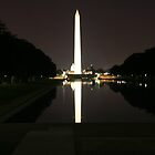 Washington Monument by Night by CBenson