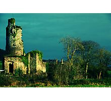 Rural Tower In Acidic Light  Photographic Print
