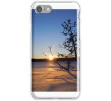Frozen Pond Winter Photography iPhone Case/Skin