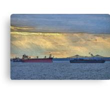Delaware River Maritime 4  Canvas Print