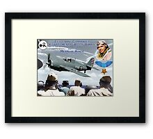 "Medal of Honor ""Butch"" O'Hare  Framed Print"