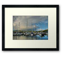 Craobh Marina Framed Print
