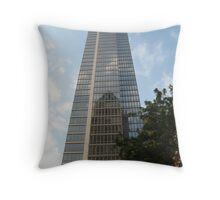 From one tall building to another... Throw Pillow