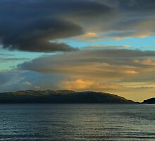 Sunset over the Gulf of Corryvreckan by Alisdair Gurney